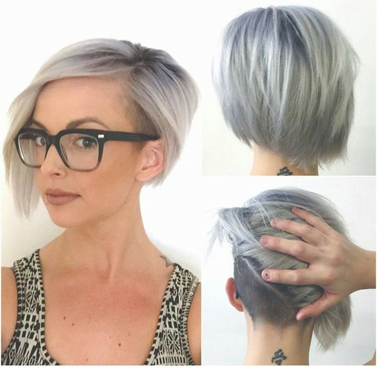 Asymmetrical Bob Hairstyle Round Face 3