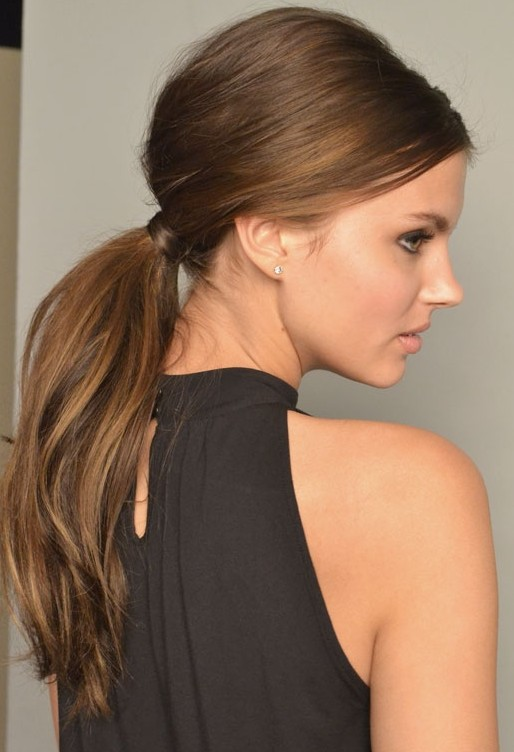 20 Lovely Ponytail Hairstyles for Long Hair | Women\'s Fashionesia